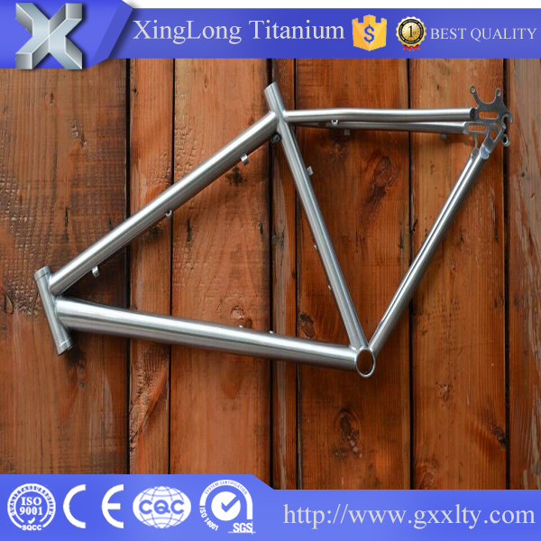 best factory titanium price high quality Light weight titanium alloy road bike frame