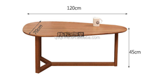 new design style white oak coffee table fish tank