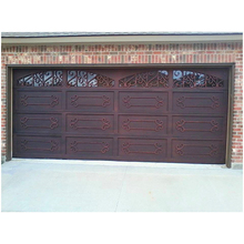 Customized ecurity single panel side opening garage doors sizes and prices