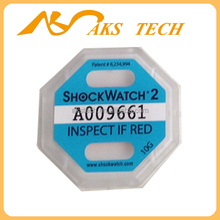 10G Shockwatch 2 Impact Sensors and Indicators for Shipping Sensitive Goods