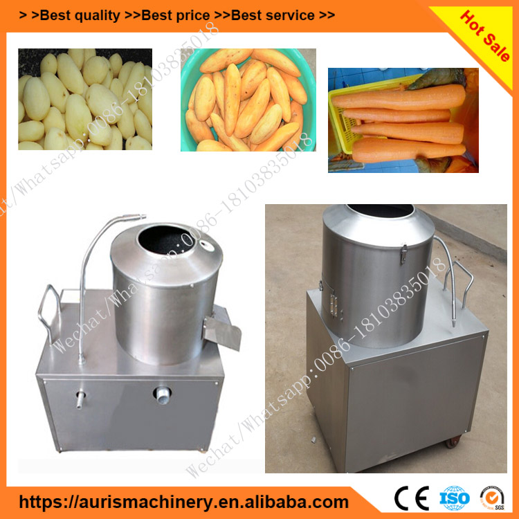 Ginger processing machine ginger clearning peeling machine
