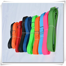 Customize colorful hook and loop strap