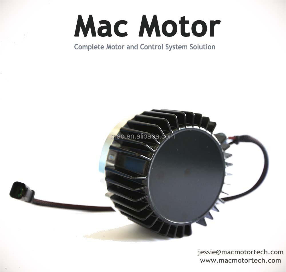 Mac motor controller with class leading torque and power