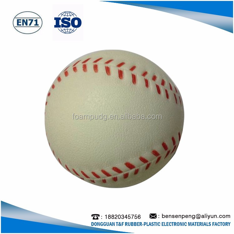 High Quality Promotional Customized logo pu stress ball, pu foam stress ball