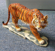 resin tiger animal