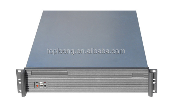 2U 550mm depth rackmount storage server chassis