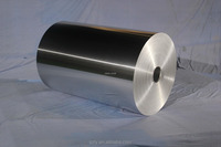 Large rolls of aluminium foil packaging material