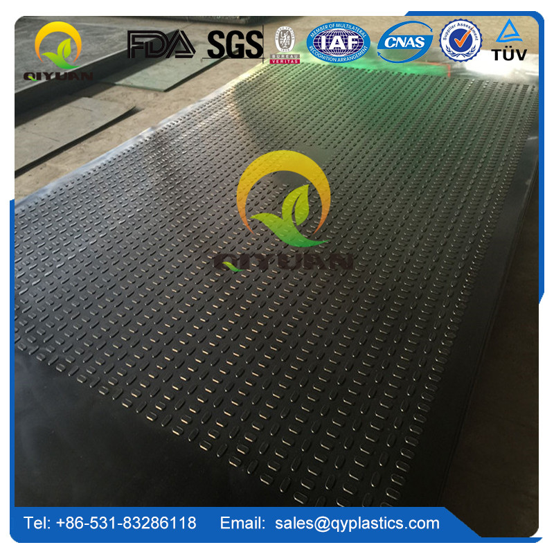 HDPE road mats and temporary flooring landscaping protection mat
