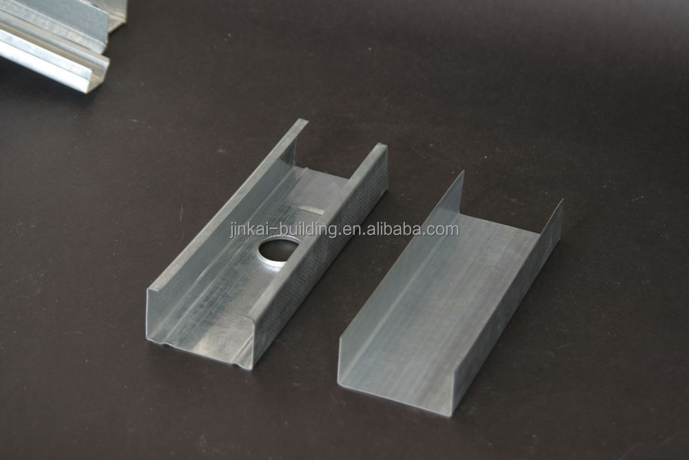 Drywall metal stud and tracks /Construction material for partition