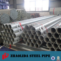 galvanized steel pipe and welded steel pipe for scaffolding / greenhouse used galvanized pipe/casing pipes for driling