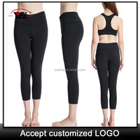 Custom hot sex fashion discount yoga pants , neon workout clothes , sexy workout clothing 2080