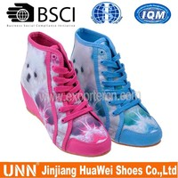 cartoon of pet with a little high heel women shoes
