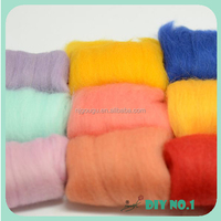 100% natural colored wool wholesale