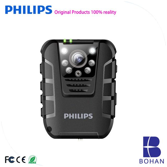 Philips WiFi Police Security Guard Body Worn Camera Waterproof Photo/Video