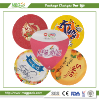 Aluminum Foil Container Lid For Yogurt / Aluminum Foil Lid for Container