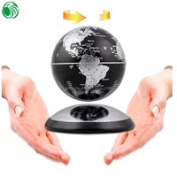 Christmas gift decoration ornament magnetic levcitation globe special plush toys display