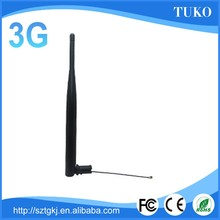 Factory supply wireless external rubber duck foldable 3G antenna with crc9 connector