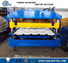 Iron Sheet Roll Forming Line Steel Roof Tile Making Machine