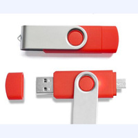 2017 Free Sample of Factory Wholesale Mini USB flash drive, OTG USB memory stick, swivel OTG mobile flash drive