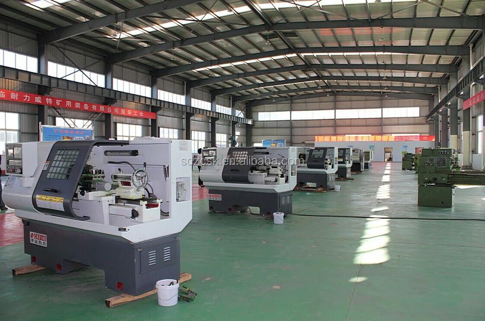 High precision horizontal CNC lathe machine CK6180/ metal lathe with Taiwan technology CE CCC ISO