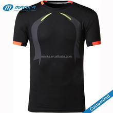 Customized Mens High Quality Tight Compression Body Shape Print Jogging Sport T Shirt