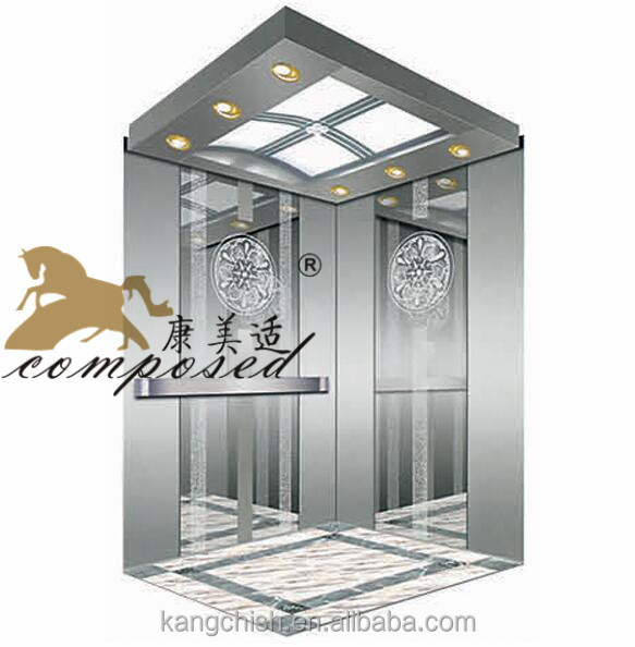 small overhead height cost of panoramic elevator lift elevator