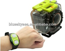 HD 1080P Action Sport Helmet Waterproof Camera Cam+RF Wrist Strap Remote Control