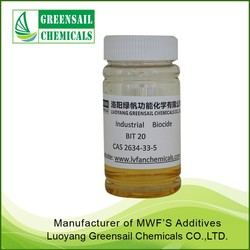 metalworking fluid biocides BIT 20% 1,2-Benzisothiazolin-3-one manufacturer
