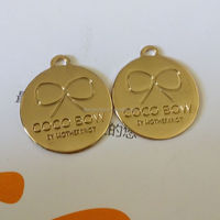 Wholesale Tiny Gold Metal Plate TAG