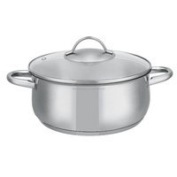 Korea Cookware Stainless Steel Stock Pot for Kitchen