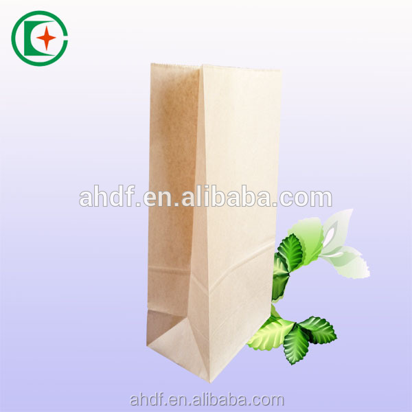 food industry use vegetable and fruit packaging paper bag