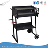 H Shape Outdoor Barbecue Charcoal Teppanyaki BBQ Grill Machine