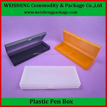 Elegant Chinese manufacturer clear pen plastic box with low price
