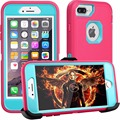 Heavy Duty Shockproof Hard Cover Protective Case For Iphone 7g With Holster Kickstand Case For Iphone 7 8 x