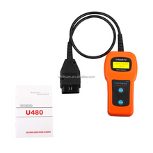 2017 Newest Professional Auto scanner Memo Scanner U480 code reader OBDII car diagnostic tool u480