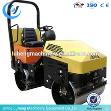 Ride-on small-size Road Mini Vibratory Roller Light Compaction Equipment/8 ton double drum roller SYW-5