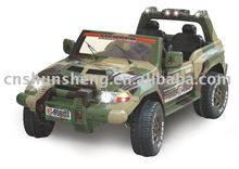 KID SUPER MILITARY JEEP WITH R/C