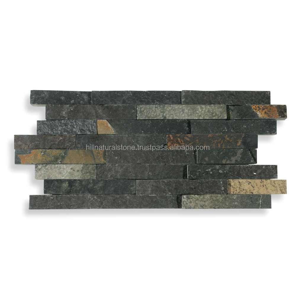 Castello, Wall cladding Black finger interlock