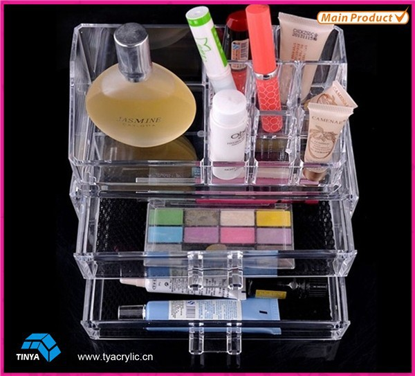 High Quality Cheap New Products Best Selling Products Table Top Makeup Organizers, Drawer Acrylic Makeup Organizer