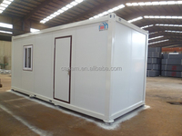 flexible prefabricated container house for camp office