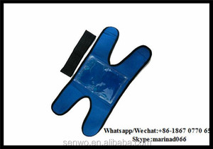 Senwo Reusable Flexible Gel Ice Pack Wrap with Elastic Strap for Hot Cold Therapy cold compress