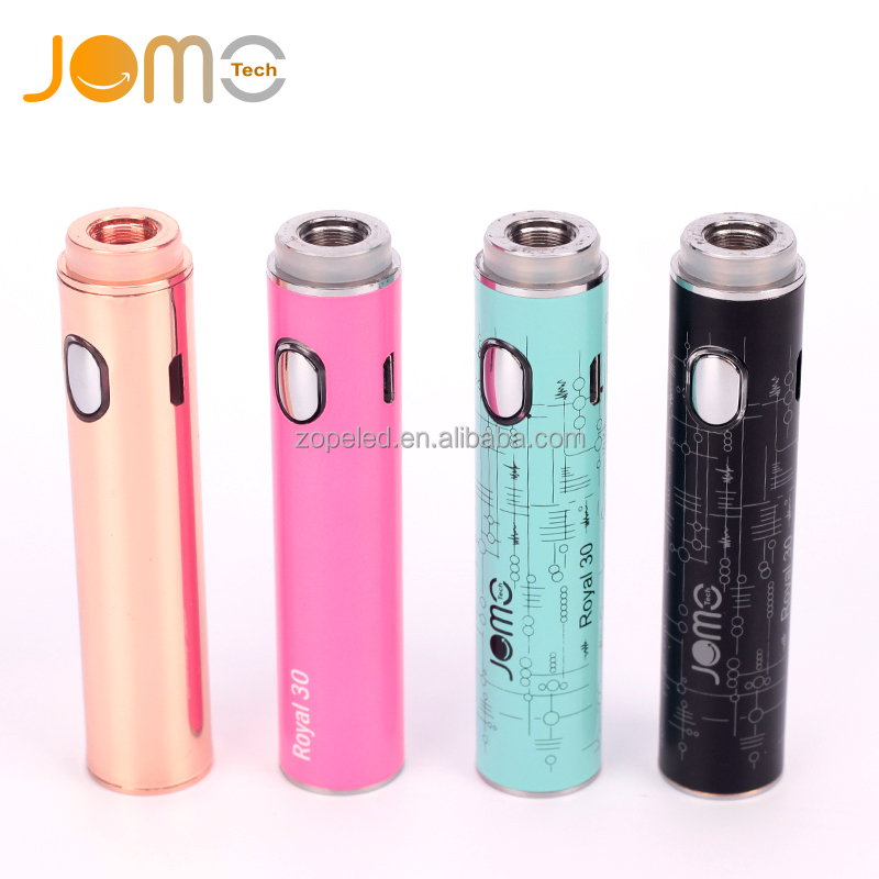 2017 trending products new product Royal 30 ceramic atomizer slim vape pen custom stickers custom vaporizer with colorful choice