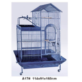 High quality plastic wire cage foldable pet cage bird cage plastic mesh