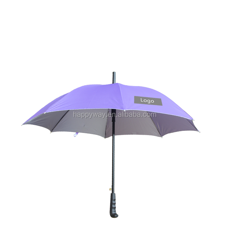 High Quality Promotion Colorful Golf Umbrella, MOQ 100 PCS 0606011 One Year Quality Warranty