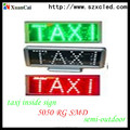 XUANCAI best led display,Led car message sign,led taxi display