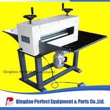 Mini semi automatic paper sheet feed die cutting machine