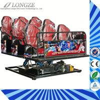 Made hydraulic system Strong Impact Newest concept 3d 4d glasses for 3d 4d 5d 7d cinema movies
