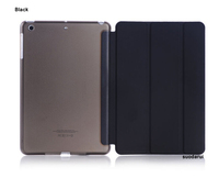 Three Folding stand leather smart case cover For apple iPad mini 4