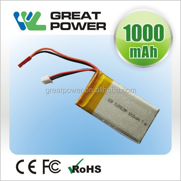 4.2v 993052 1200mah 15C discharge high power lithium polymer battery for power tool