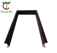eco-friendly waterproof PVC door frame/door casing